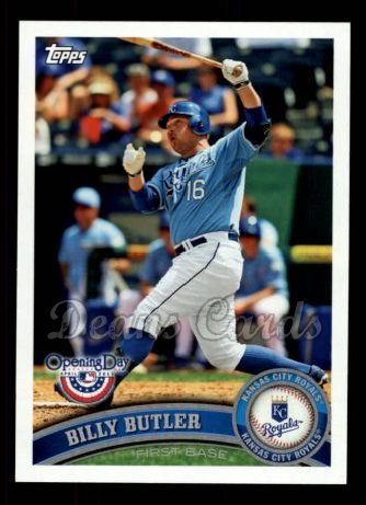 2011 Topps Opening Day #185  Billy Butler