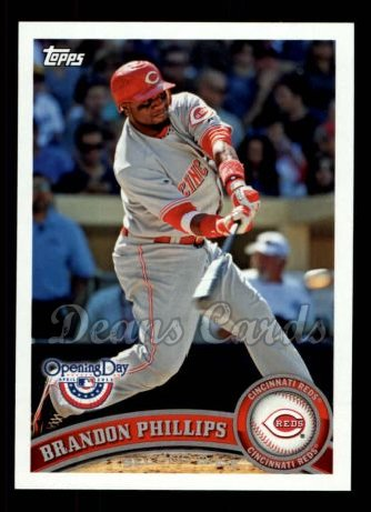 2011 Topps Opening Day #187  Brandon Phillips