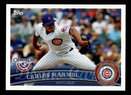 2011 Topps Opening Day #19  Carlos Marmol
