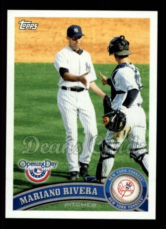 2011 Topps Opening Day #20  Mariano Rivera