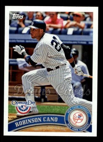 2011 Topps Opening Day #200  Robinson Cano