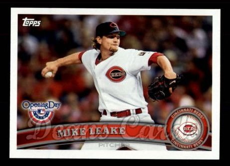 2011 Topps Opening Day #202  Mike Leake