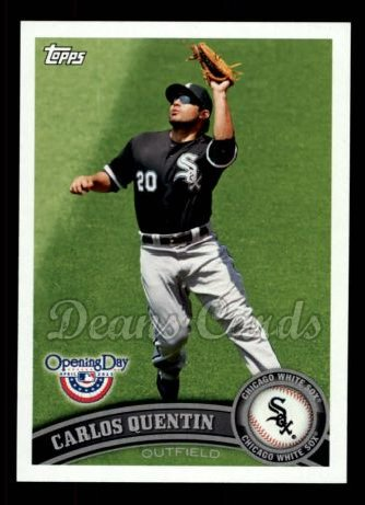 2011 Topps Opening Day #205  Carlos Quentin