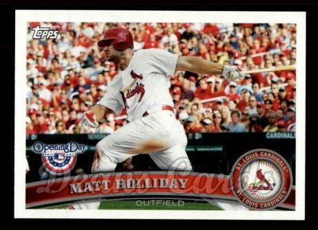 2011 Topps Opening Day #213  Matt Holliday