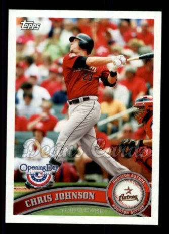 2011 Topps Opening Day #23  Chris Johnson
