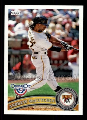 2011 Topps Opening Day #27  Andrew McCutchen