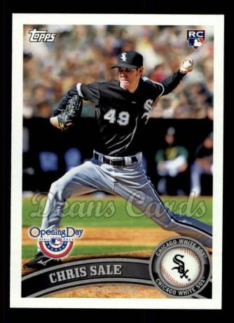 2011 Topps Opening Day #31  Chris Sale