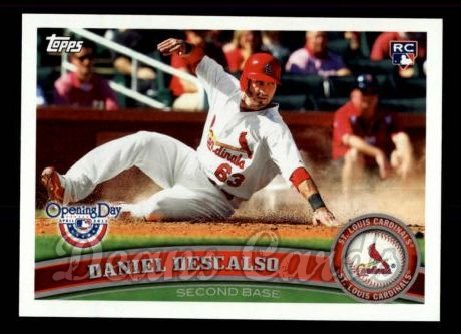 2011 Topps Opening Day #36  Daniel Descalso