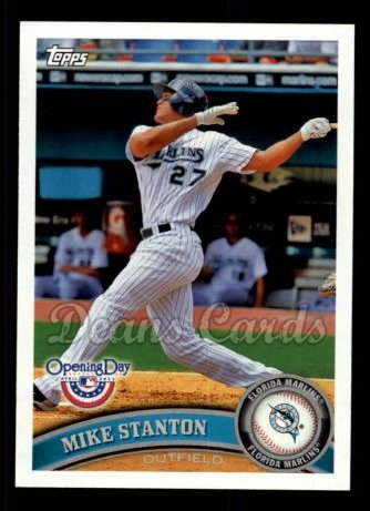 2011 Topps Opening Day #38  Giancarlo Stanton
