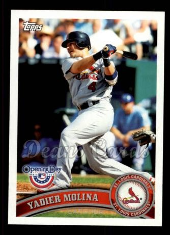 2011 Topps Opening Day #46  Yadier Molina