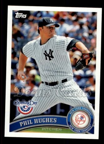 2011 Topps Opening Day #47  Phil Hughes