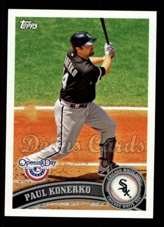 2011 Topps Opening Day #48  Paul Konerko