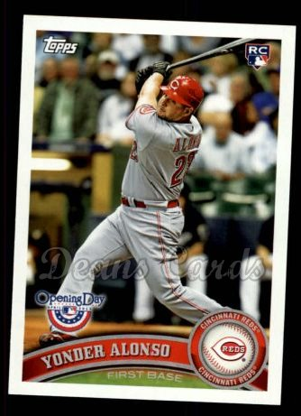 2011 Topps Opening Day #49  Yonder Alonso