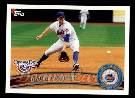 2011 Topps Opening Day #5  David Wright