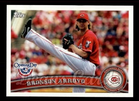 2011 Topps Opening Day #53  Bronson Arroyo
