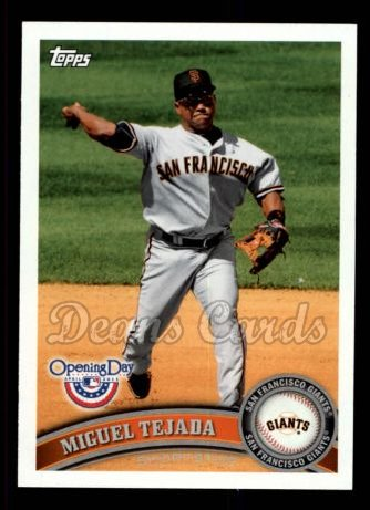 2011 Topps Opening Day #64  Miguel Tejada