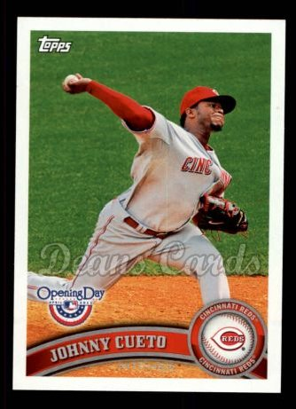 2011 Topps Opening Day #67  Johnny Cueto