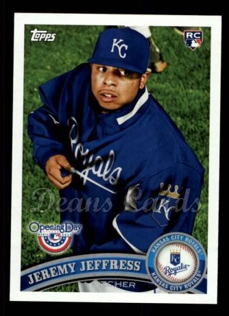 2011 Topps Opening Day #68  Jeremy Jeffress