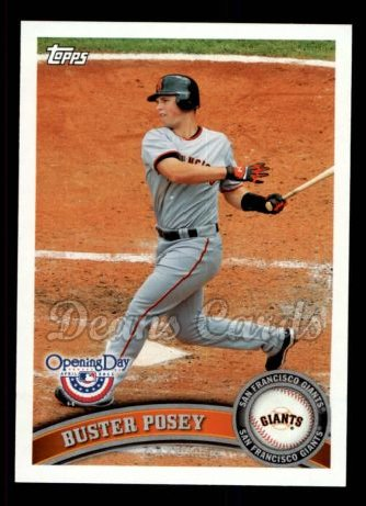2011 Topps Opening Day #75  Buster Posey