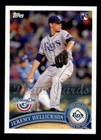 2011 Topps Opening Day #80  Jeremy Hellickson