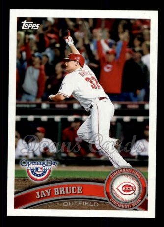 2011 Topps Opening Day #81  Jay Bruce