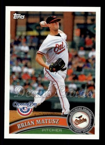 2011 Topps Opening Day #84  Brian Matusz