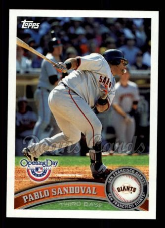 2011 Topps Opening Day #89  Pablo Sandoval