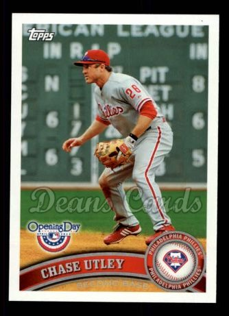 2011 Topps Opening Day #90  Chase Utley