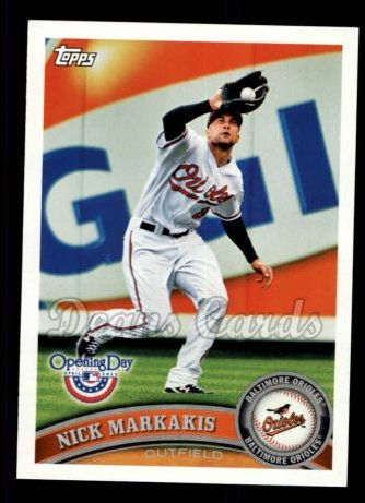 2011 Topps Opening Day #92  Nick Markakis