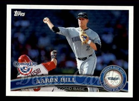 2011 Topps Opening Day #93  Aaron Hill