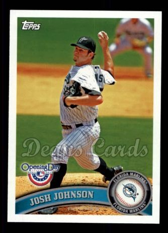 2011 Topps Opening Day #95  Josh Johnson