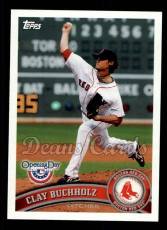 2011 Topps Opening Day #99  Clay Buchholz