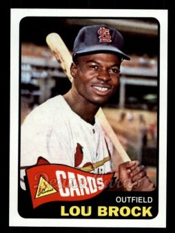 2011 Topps 60 Years of Topps #14 60YOT Lou Brock