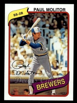 2011 Topps 60 Years of Topps #29 60YOT Paul Molitor