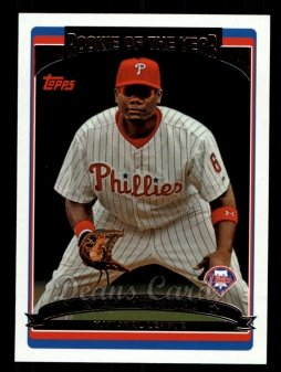 2011 Topps 60 Years of Topps #55 60YOT Ryan Howard