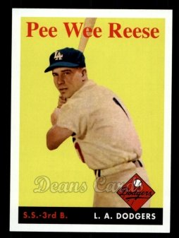 2011 Topps 60 Years of Topps #7 60YOT Pee Wee Reese