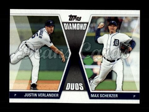 2011 Topps Diamond Duos #19 DD1  -  Evan Longoria / Ryan Zimmerman Diamond Duos