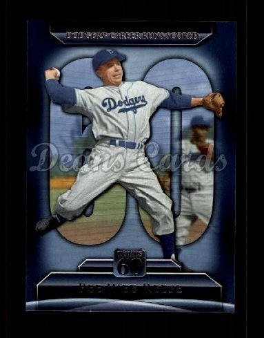 2011 Topps 60 #121 T-60 Pee Wee Reese