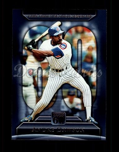 2011 Topps 60 #123 T-60 Andre Dawson