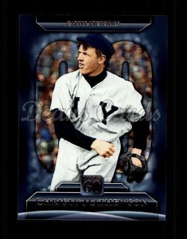 2011 Topps 60 #131 T-60 Christy Mathewson