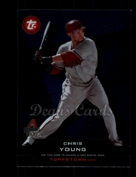 2011 Topps Town #11 TT  -  Chris Young