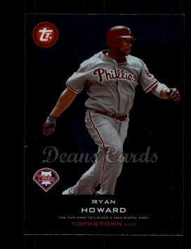 2011 Topps Town #25 TT  -  Ryan Howard