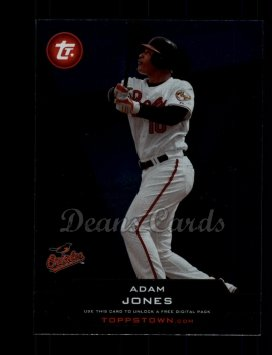 2011 Topps Town #9 TT  -  Adam Jones