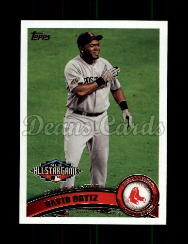 2011 Topps Update #42  David Ortiz