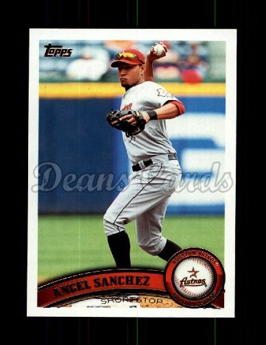2011 Topps Update #46  Angel Sanchez