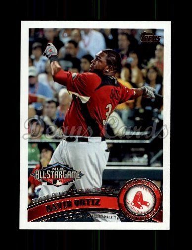 2011 Topps Update #78  David Ortiz