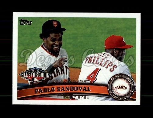 2011 Topps Update #84  Pablo Sandoval