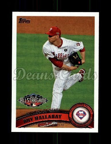 2011 Topps Update #85  Roy Halladay