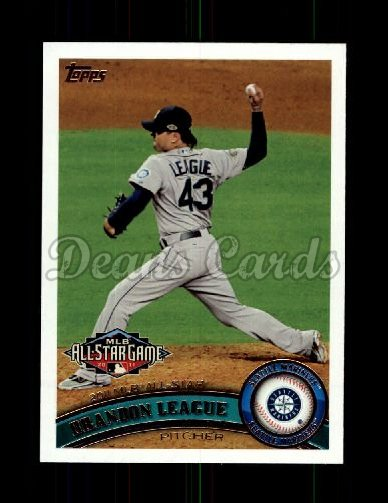 2011 Topps Update #91  Brandon League