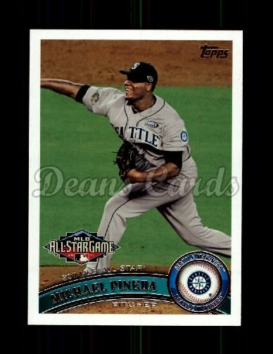 2011 Topps Update #118  Michael Pineda